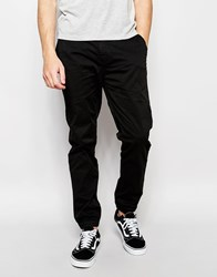 Minimum Chino With Cuff Bottom In Black 999 Black