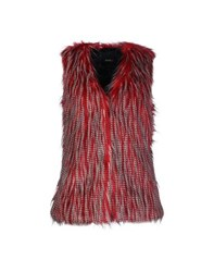 Unreal Fur Coats And Jackets Faux Furs Women Garnet