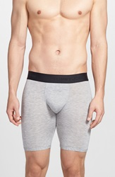 Tommy John 'Second Skin' Boxer Briefs Heather Grey