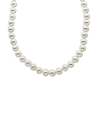 Lord And Taylor 14 Kt. Yellow Gold Freshwater Pearl Strand Necklace