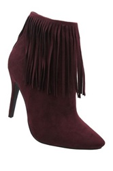 Yoki Shana High Heel Bootie Red