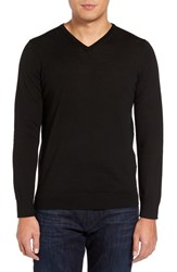 Slate And Stone Men's Merino Wool V Neck Sweater