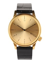 Komono Timepieces Wrist Watches Men Gold