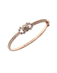 Givenchy Crystal Studded Bangle Bracelet Rose Gold