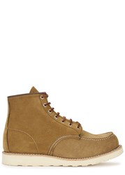 Red Wing Shoes Classic Moc Olive Suede Boots