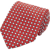Penrose London Dean B Neck Tie Red