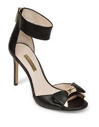 Louise Et Cie Kiki Leather Stilettos Black