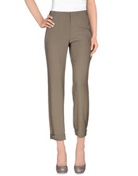 Mauro Grifoni Trousers Casual Trousers Women Light Grey