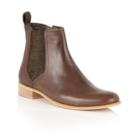 Ravel Johnson Ankle Boots Brown