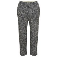 Paul By Paul Smith Women's Textured Trousers Black