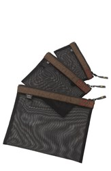 Men's Sons Of Trade 'Assignment Kit' Zip Mesh Storage Bags Green Heathered Olive