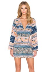 Reverse Go With The Flow Dress Peach