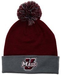 Top Of The World Massachusetts Minutemen 2 Tone Pom Knit Hat