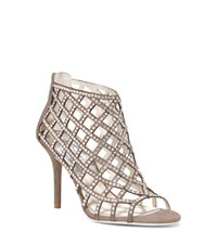 Michael Michael Kors Yvonne Crystal And Suede Cage Sandal