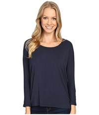 United By Blue Standard Dolman Shirt Navy Women's Clothing