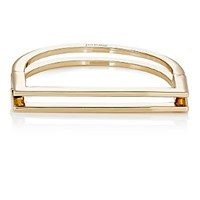 Miansai Women's Square Bar Cuff Bangle Gold
