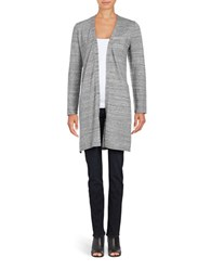 Calvin Klein Long Open Cardigan Grey