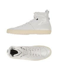 Cnc Costume National Costume National Homme Footwear High Tops And Trainers Men White