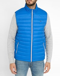 Tommy Hilfiger Blue Light Sleeveless Down Jacket