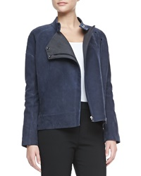 J Brand Ready To Wear Goodall Nubuck Leather Jacket X Small