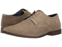 Ben Sherman Gaston Oxford Taupe Men's Lace Up Casual Shoes