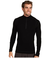 Smartwool Midweight Zip T Black Men's Long Sleeve Pullover