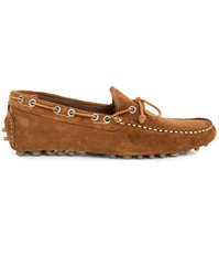 Jack And Jones Cannes Camel Suede Laced Slip Ons