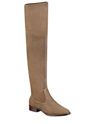 Ivanka Trump Livi Over The Knee Faux Suede Boots Olive