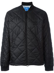 Adidas Originals 'Quilted Superstar' Bomber Jacket Black