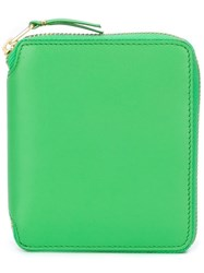 Comme Des Garcons Wallet 'Colour Plain' Wallet Green