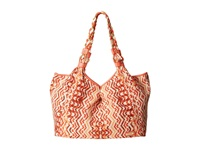 Rafe New York Playa Tote Valencia Tote Handbags Orange