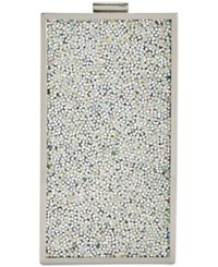 Inc International Concepts Beaded Phone Clutch Crossbody Only At Macy's Silver Bead