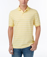 Club Room Men's Striped Polo Only At Macy's Magnolia