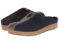 Haflinger Magic Captains Blue Earth Women's Clog Shoes