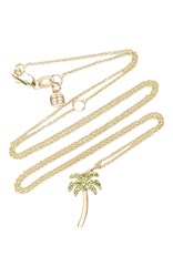 Sydney Evan Palm Tree Charm Green