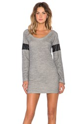 Insight Daria Sweater Dress Gray