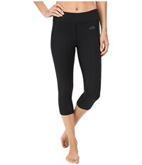 The North Face Pulse Capri Tight Tnf Black Women's Capri