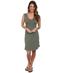 Columbia Saturday Trail Knit Dress Cypress Heather Women's Dress Gray