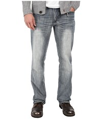 Buffalo David Bitton Driven Straight Leg In Blasted Indigo Blasted Indigo Men's Jeans Blue