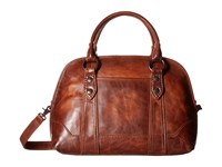 Frye Melissa Domed Satchel Cognac Satchel Handbags Tan