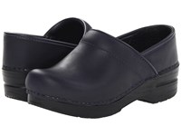 Dansko Professional Blueberry Oiled Clog Shoes Navy