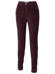 Fat Face Cord Jeggings Prune