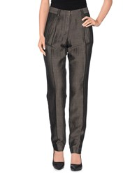 Incotex Red Trousers Casual Trousers Women Steel Grey