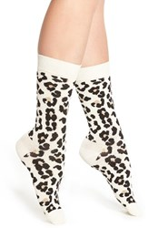 Happy Socks Women's 'Leopard' Crew
