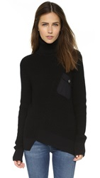 Marc By Marc Jacobs Turtleneck Sweater Black