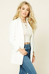 Forever 21 Contemporary Padded Blazer