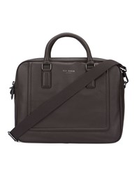 Ted Baker Brown Ragna Leather Briefcase