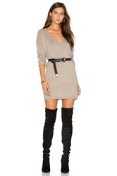 Fine Collection Sophie Sweater Dress Gray