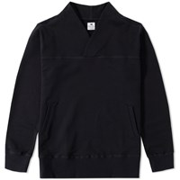 Sasquatchfabrix. Wa Neck Sweat Black