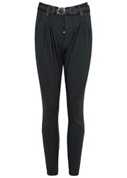 High Skive Anthracite Jersey Trousers Grey